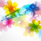 vector_of_abstract_colorful_flower_background_267430